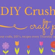 Craft Party #31 with DIY Crush - vicky myers creations
