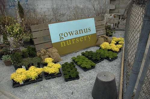 Signage, Gowanus Nursery