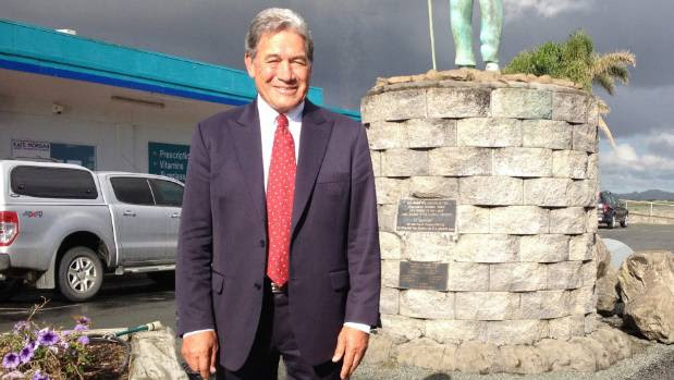 CANDIDATE: Winston Peters has decades of experience in Parliament.