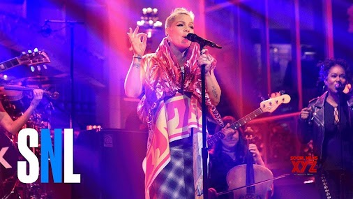 #P!nk: #Beautiful #Trauma - #SNL  Musical guest P!nk performs