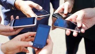 Diferents smartphones