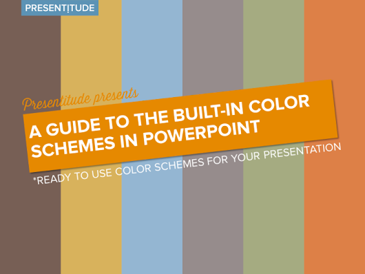 Get access to the built-in color themes in PowerPoint - Presentitude -