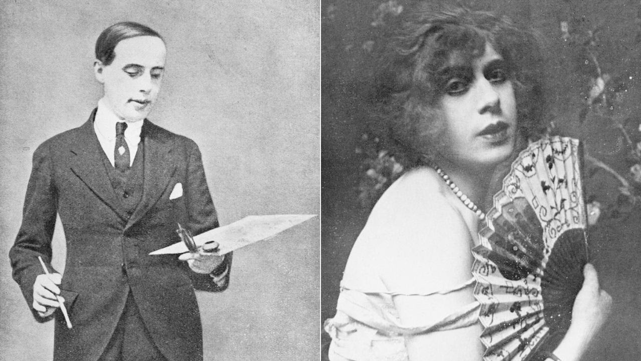 Einar Wegener, the Danish painter; and Lili Elbe