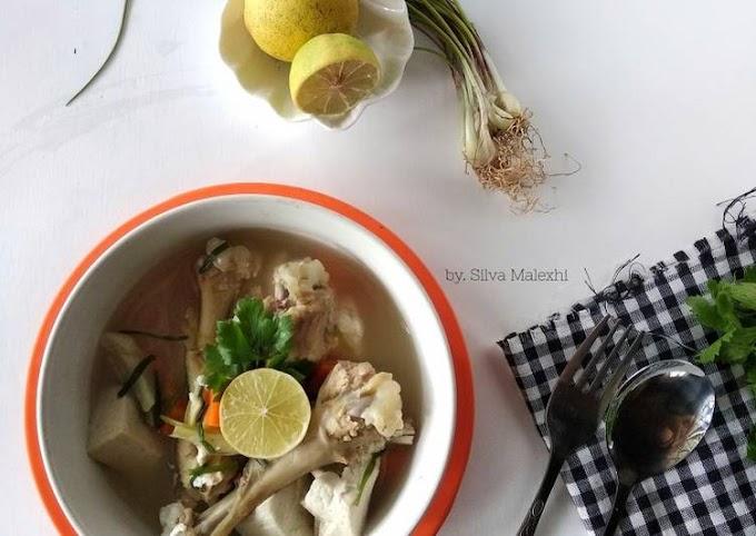 Resep Mudah Sup Ayam Kucai Tanpa Tanding
