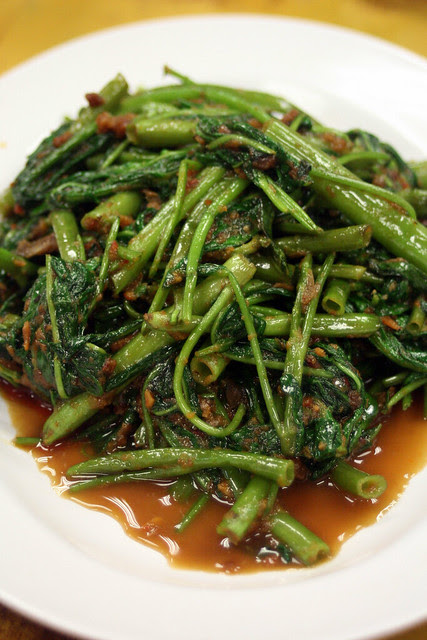 Sambal kangkong that's really good!
