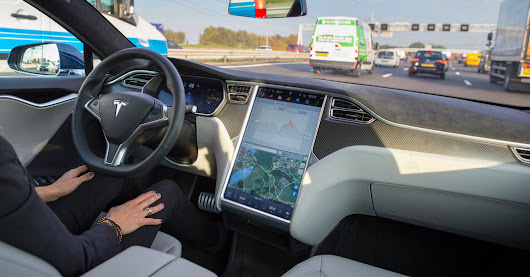 Self-Driving Tesla Was Involved in Fatal Crash, U.S. Says - The New York Times