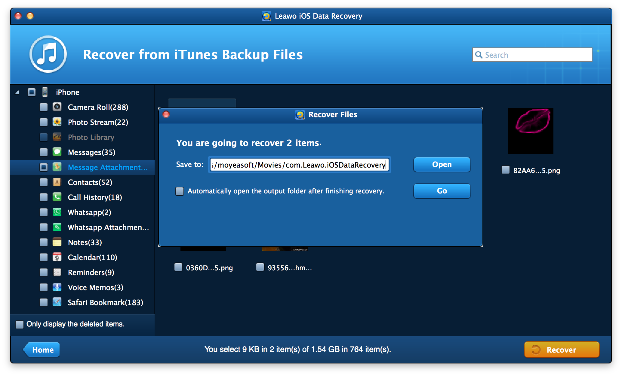 Leawo iOS Data Recovery for Mac \u2013 Professional Mac iPod\/iPad\/iPhone Data Recovery Software
