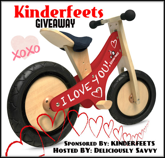 Kinderfeets Classic Push Bike Giveaway! XOXO Giveaway Hop ~ Co-Host Page - That's Just Life