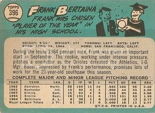 #396 Frank Bertaina (back)