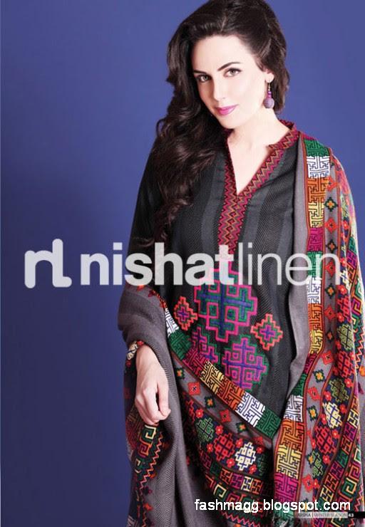 Nishat-Linen-Winter-Dresses-Collection-2013-Nishat-Linen-Fancy-Frocks-Shalwar-Kamiz-8