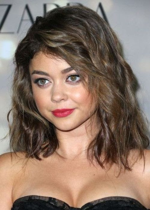 50 Most Flattering Hairstyles  for Round  Faces  Fave