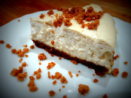 Speculoos 'cheese' cake
