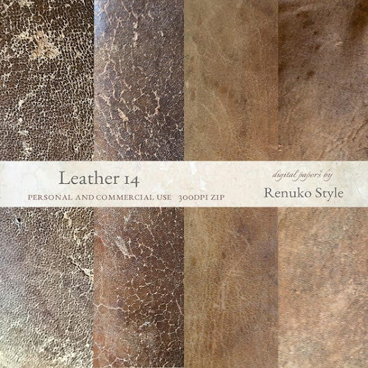 Leather 14 Photoshop Textures Digital Backgrounds Texture