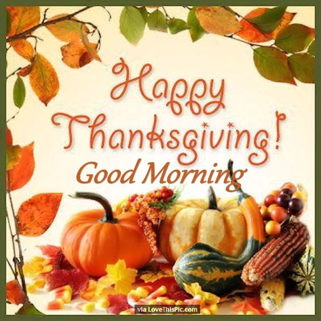Festive Happy Thanksgiving Good Morning Quote Pictures Photos And