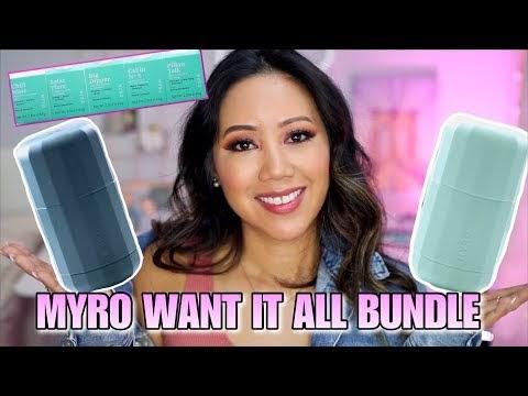 MYRO Natural Deodorant Want It All Bundle Review! MYRO