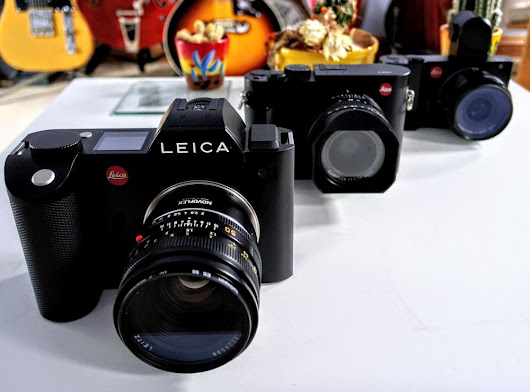 LEICA SL (TYP 601) Professional Mirrorless at last.