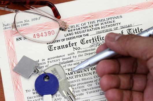 Q&A: How Much Does It Cost to Transfer a Land Title in the Philippines? - Lamudi