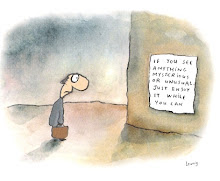 Leunig - If you see anything mysterious or unusual
