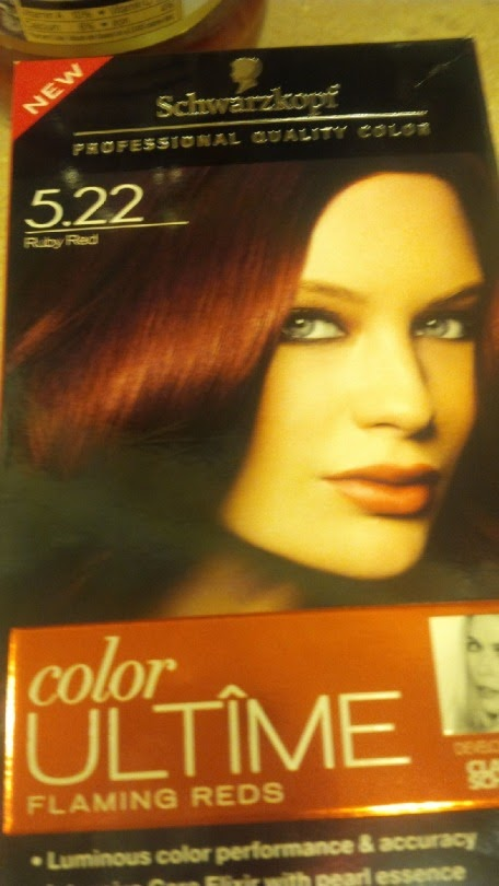 Beauty File: Going Red Just In Time For Fall.
