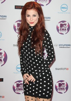 Lena Meyer Landrut Mtv Europe Music Awards 2011 Mega Tribune