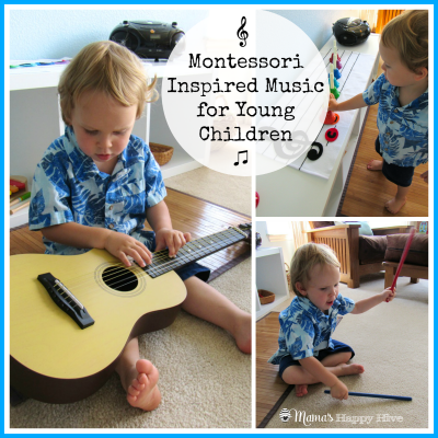 Montessori Inspired Music for Young Children - Mama's Happy Hive