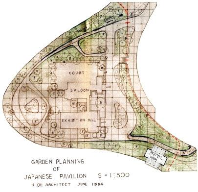 05-Projeto paisagístico do Pavilhão Japonês no Ibirapuera-1954
