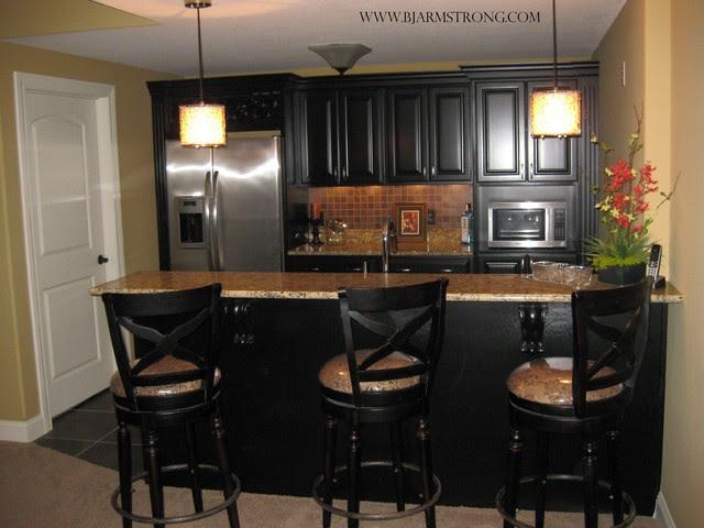 Basement Kitchen Bar Ideas