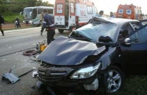 Acidente deixa cinco feridos graves na PR-323