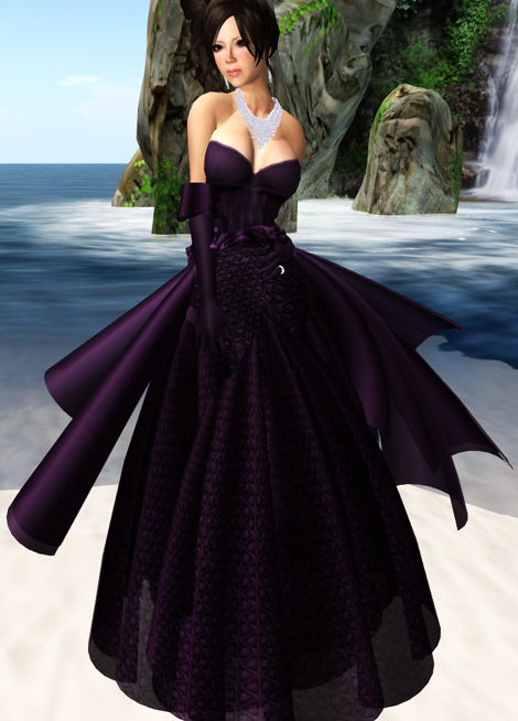 "!RP MVW 09  ""Marry"" Gown  Orchid VERSION I"