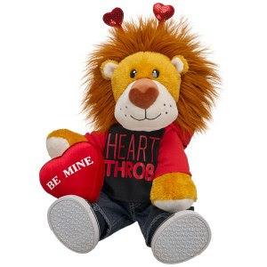 huge hearted lion
