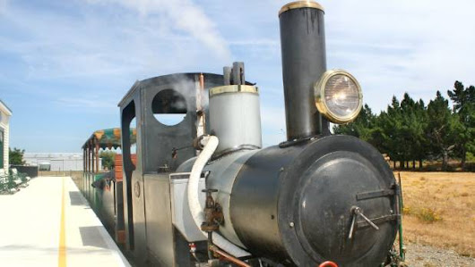 Going (on) a little loco as historic steam train back on track for new era |