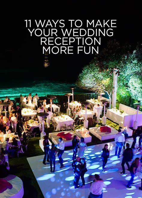 17 Best Unique Wedding Reception Ideas on Pinterest