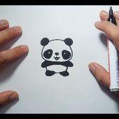 Imagenes De Osos Panda Para Dibujar Faciles