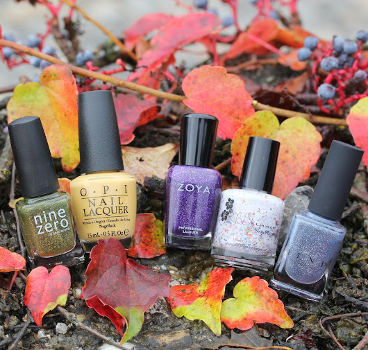 My Top 5 Fall Polishes 2016