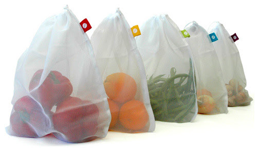 Produce Bags, Set of 5 - Modern - Food Containers And Storage - by Branch