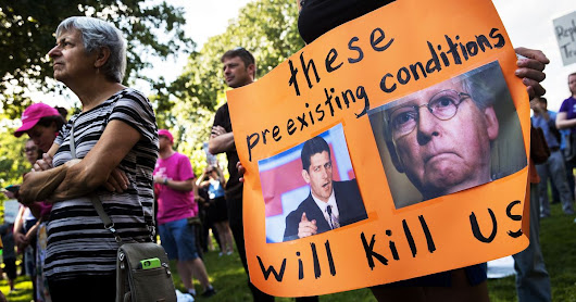 GOP Preexisting Conditions Bill May Have $1 Million Premium