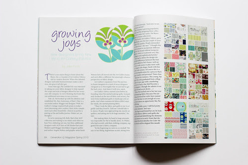 Generation Q - Spring 2013 by Jeni Baker