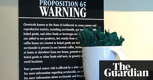 Judge affirms decision to put cancer warnings on coffee in California | US news | The Guardian