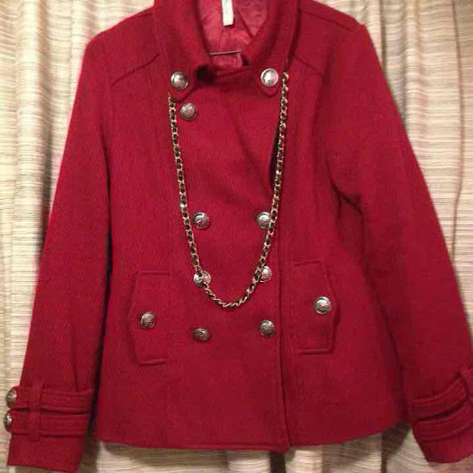 Beautiful RED Chanel Style Jacket •($ 16) - Mercari: Anyone can buy & sell