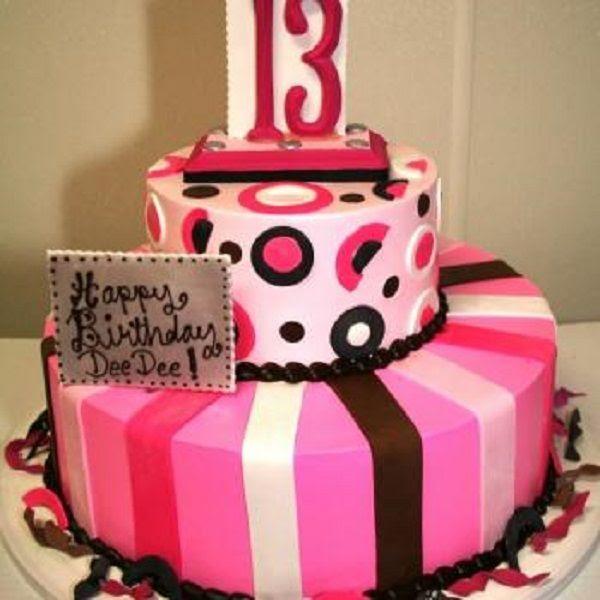 Birthday Cake Designs For Teenage Girls Boory