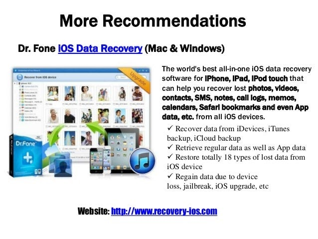 Free iOS Data Recovery for iPhone iPad iPod