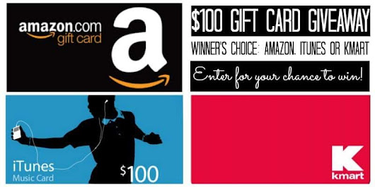$100 Gift Card Giveaway Winner's Choice! | This Mama Loves