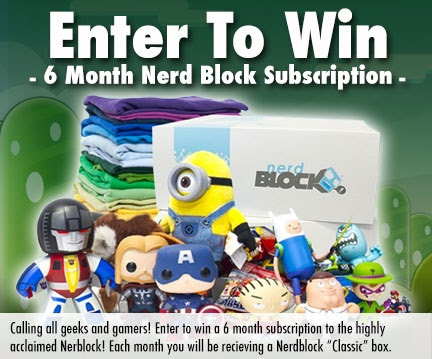 GIVEAWAY ALERT: WIN A 6 Month Subscription to NerdBlock!