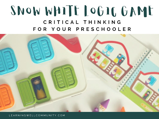 Snow White Logic Game Review: Preschool Critical Thinking