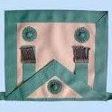 Masonic Apron, Rosettes, Freemasons, Freemasonry, Freemason