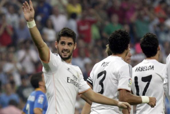 REAL MADRID 4 - GETAFE 1