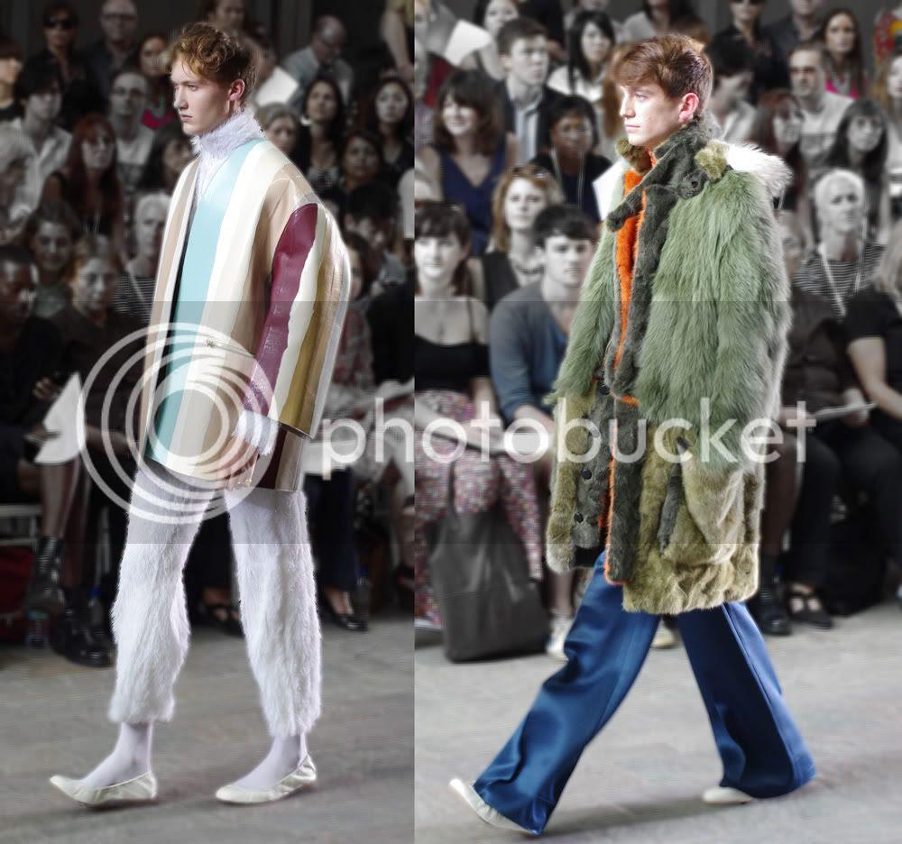Pun Sarasas (Fashion Menswear) CSM BA Press Show