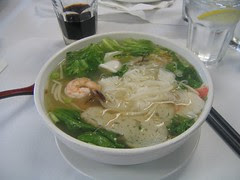 Mommy's seafood noodle soup. My favorite.