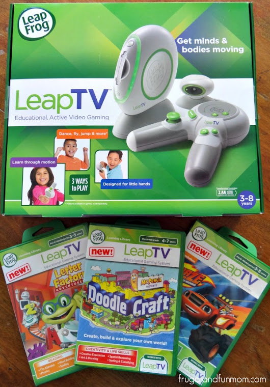 Video Review of the LeapFrog LeapTV Plus Giveaway! #LeapFrogMomSquad #LeapTV - Frugal and Fun Mom/ Florida Mom Blog, Recipes, Crafts, Family Fun