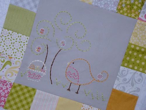 Birdie Stitches-Block #4